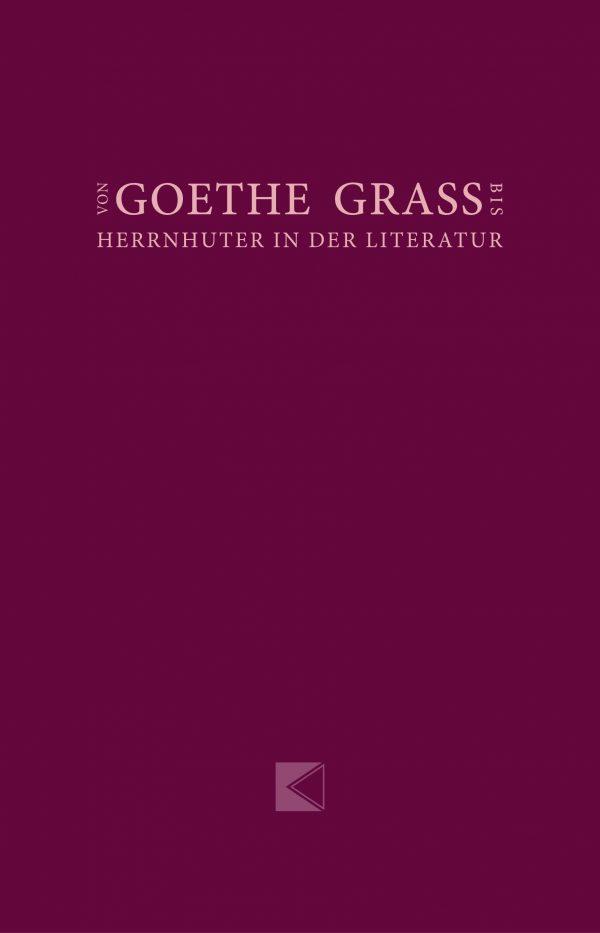 Buchdeckel Goethe Grass